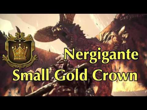 Nergigante - Small Gold Crown Measurement - MHW