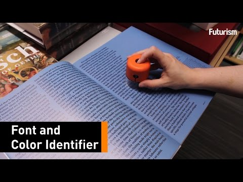 This New Gadget Can Identify Fonts And Colors In Seconds