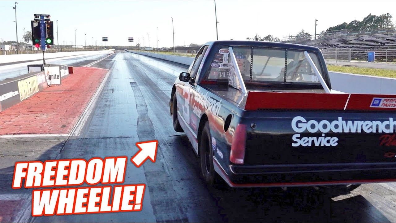 The Dale Truck Just CRUSHED Its Fastest Pass Ever!!! (all the nitrous)