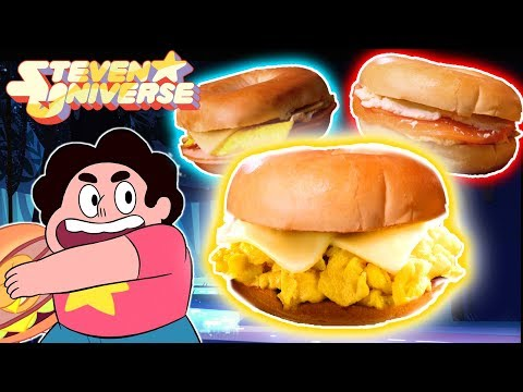 Bagel Sandwiches from Steven Universe - FREE BACKPACK GIVEAWAY!