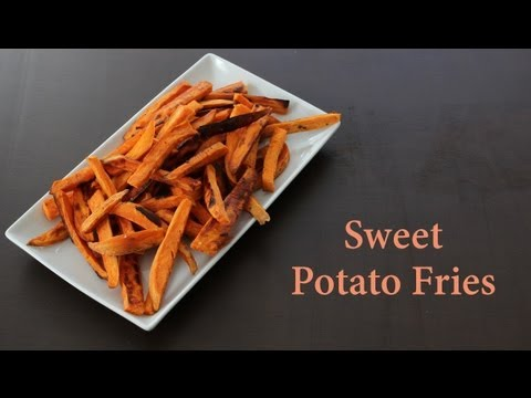 [Paleo Cooking] Sweet Potato Fries