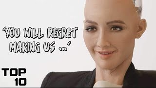 Top 10 Scary Things Robots Have Said
