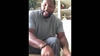 Ray Lewis Rips The 'Black Lives Matter' Movement A New One, To The Brink Of Tears
