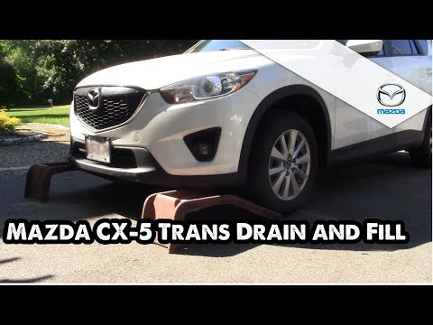 Mazda CX-5 Tranny Drain and Fill How to