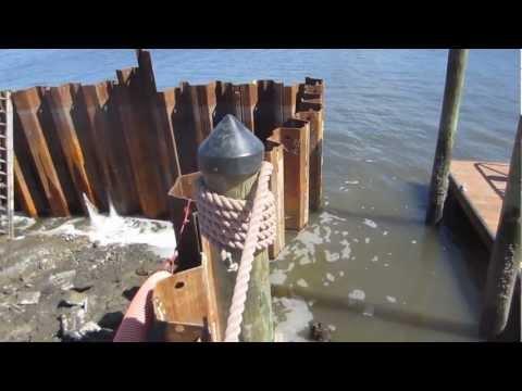 Making a boat ramp