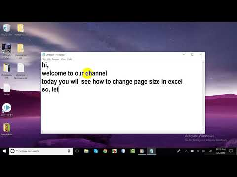 how to change page size in Excel | Easy Solution