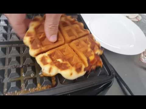 How to Make Chicken Enchilada Waffle Biscuits | MyRecipes