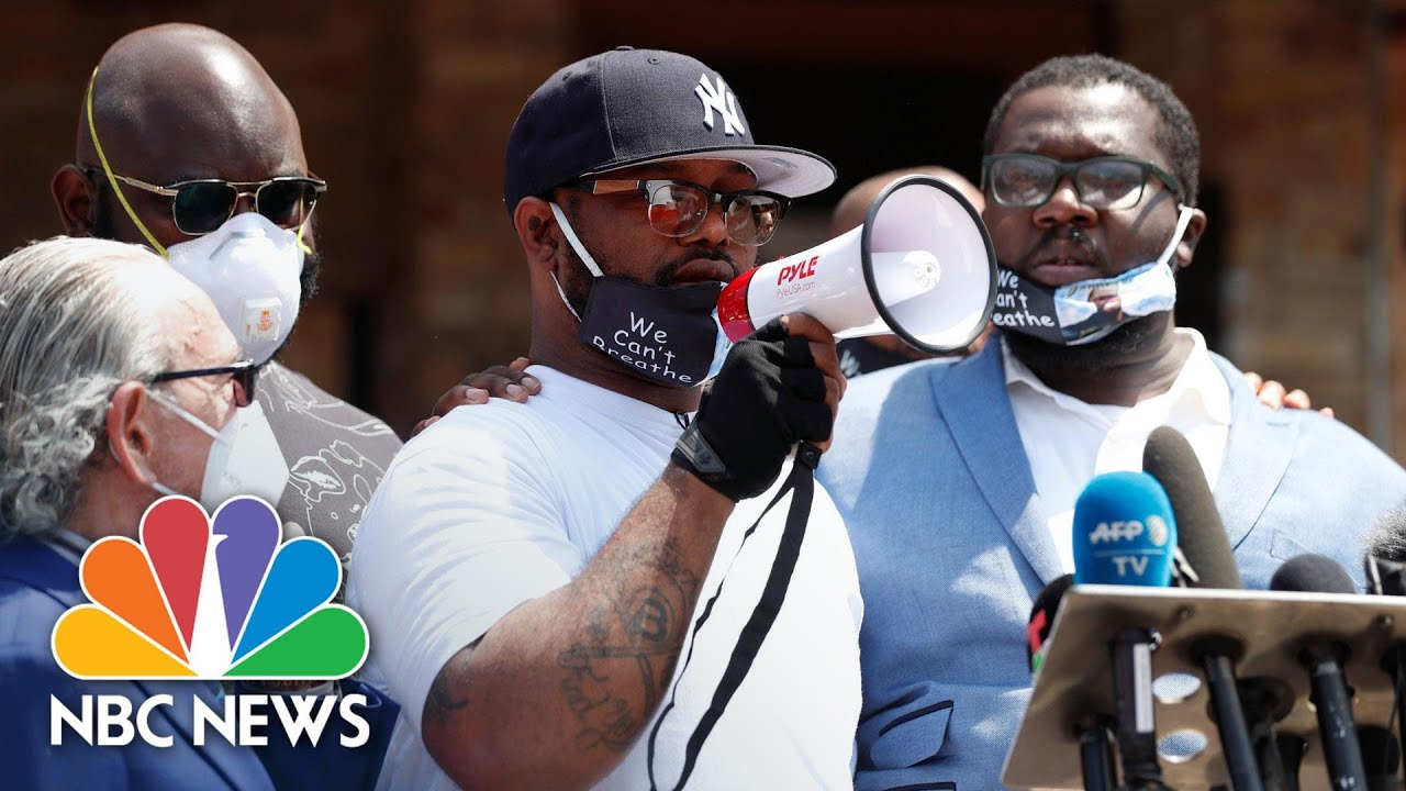 'Educate Yourself!': George Floyd's Brother Calls For Peaceful Protests   NBC News NOW