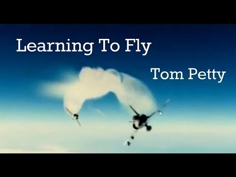 Tom Petty Learning To Fly With Lyrics and French Mirage