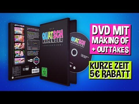 DIE QUATSCHKALENDER COLLECTION » DVD BOX mit MAKING OF und OUTTAKES