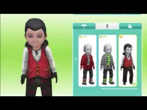 Sims FreePlay- Costume Shop