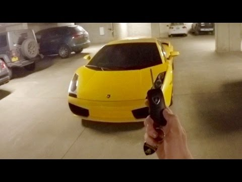 What It's Like to Drive a Lamborghini Gallardo (Night POV!)