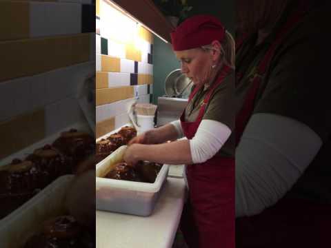 Bonelss, Pre-Sliced Honey Glazed Hams at Schinkels' Meat Market