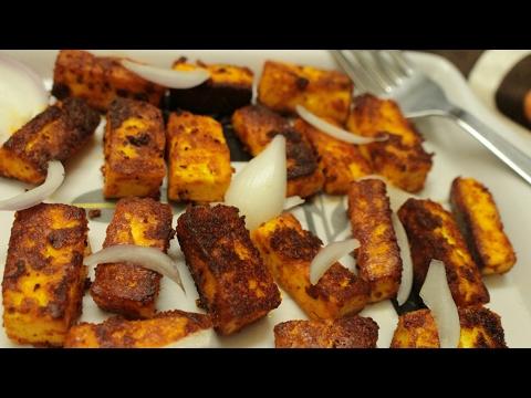 Quick paneer fry - Paneer fry - Paneer recipes - Cottage cheese fry