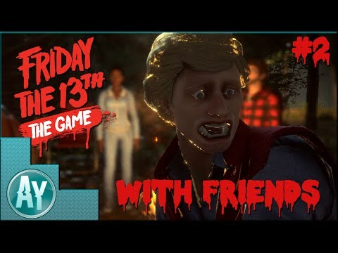 Friday The 13th The Game: Let me get some cheeks!
