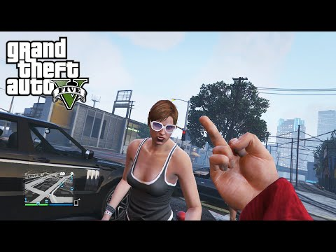 GTA 5 Online Player Social Experiment and Droidd's New Girlfriend
