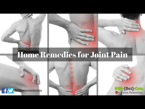 Natural Home Remedies for Joint Pain