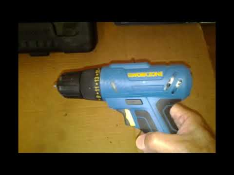 WORKZONE CORDLESS DRILL REVIEW