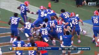 Florida Football: Gators Beat Tennessee on Hail Mary