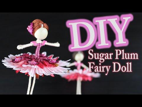DIY Nutcracker Doll - Sugar Plum Fairy Doll