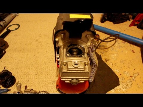 Clarks Air Compressor 1.5 Gallon Piston Ring Repair Attempt