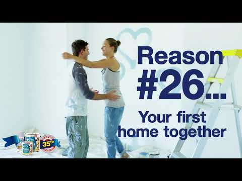 35 Reasons To Prime. Reason #... Your first home together