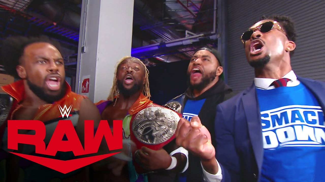 The New Day and The Street Profits swap titles: Raw, Oct. 12, 2020