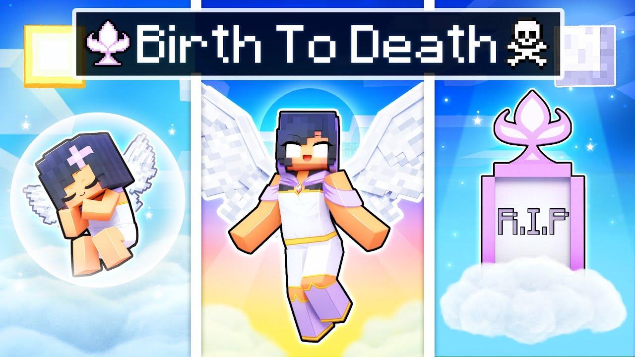 BIRTH To DEATH of a GODDESS In Minecraft!