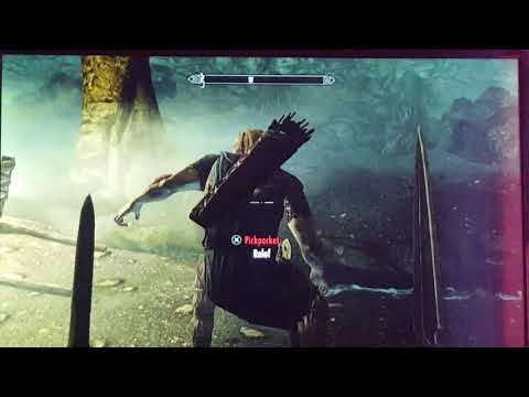 Skyrim how to get 100 sneak level