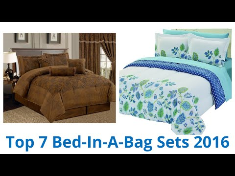 7 Best Bed In A Bag Sets 2016