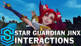 Star Guardian Jinx Special Interactions