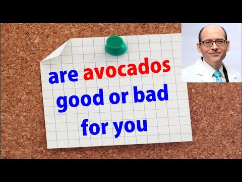 Are Avocados Good Or Bad For You ? (Dr.Greger)