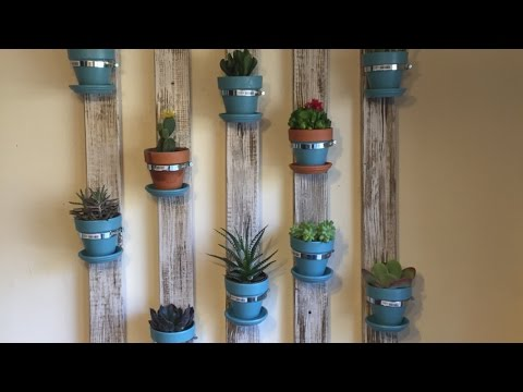 Make a Cool Succulent Wall Planter - DIY Home - Guidecentral