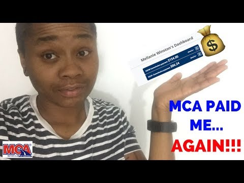 MCA INCOME PROOF 2018 | MCA REP Shares Income Proof Of Weekly Paycheck