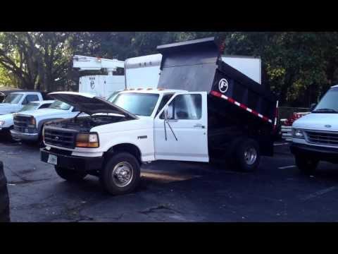 93 ford dump truck