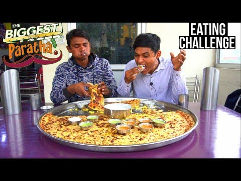 Xxx Mp4 World Biggest Paratha Eating Challenge Big Paratha Eating Competition Indian Food Challenge 3gp Sex