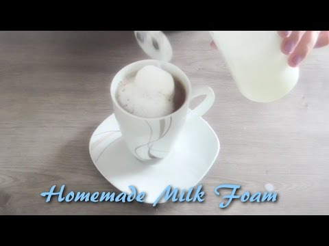 [Life Hack] Get Fluffy Milk Foam without any Fancy Machines