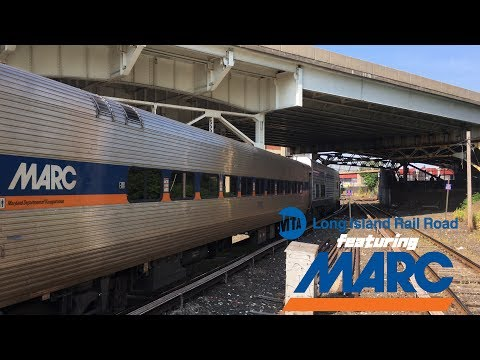LIRR SPECIAL (HD 60FPS): First Revenue Train with MARC II Coaches to Hunterspoint Av (Ride-Along)