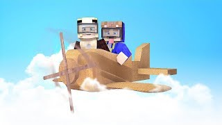 Xxl Karton Flugzeug In Minecraft!