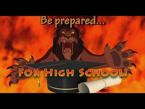 Be Prepared...for high school!