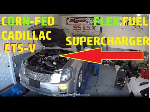 Dyno Day for My SuperCharged CTS-V!!  E-85 FLEX FUEL