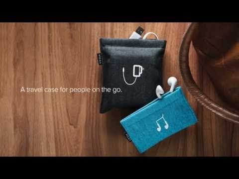 Pocket: Travel Organizer Pouch for Earphone & Chargers | UT Wire