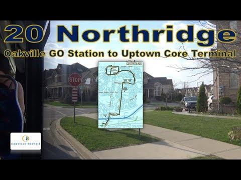 20 Northridge - Oakville Transit  2016 Nova Bus LFS 1706 (Oakville GO Stn to Uptown Core Terminal)
