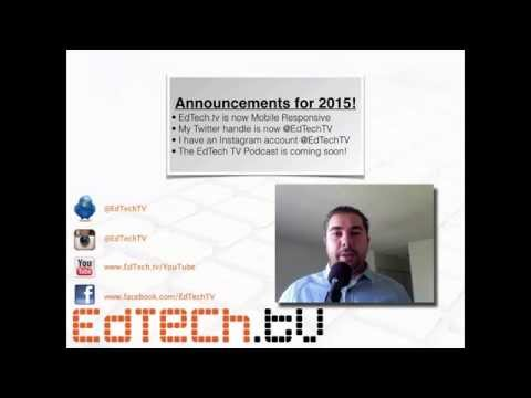 2015 Announcements for EdTech.tv