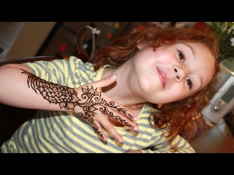 Simple Mehndi Designs For Kids  💞 That Are Awesome & Super Easy To Try Now █▬█