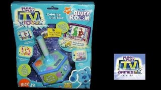 Blues Clues: Blue's Room (Plug & Play TV Game) (Gameplay)