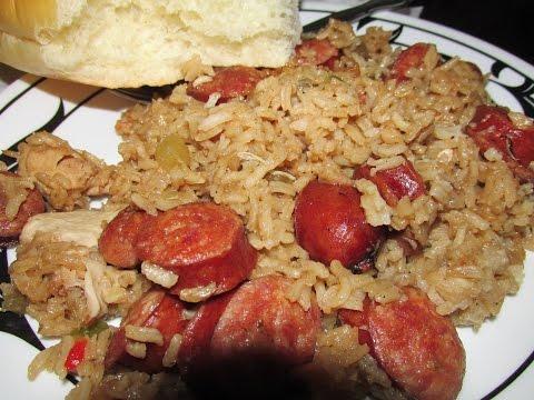 Smoked Sausage Jambalaya, Tasso Crowder Peas and a story