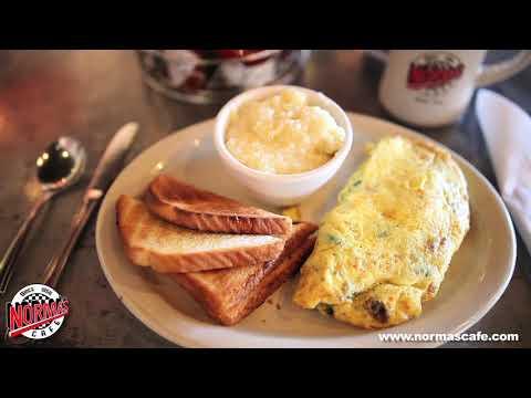 Norma's Cafe Florentine Omelet