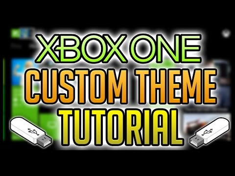 How to Get Custom Themes on XBOX ONE USB [Tutorial, 2015]