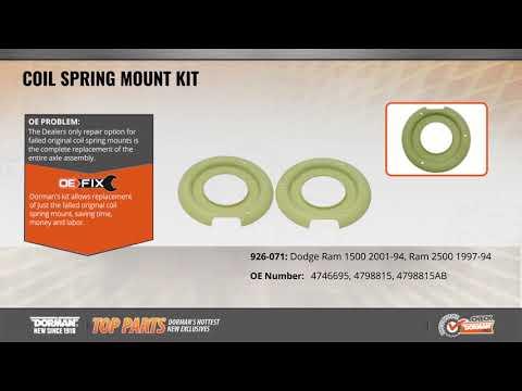 Coil Spring Mount Kit